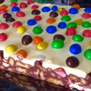 M and M rocky road