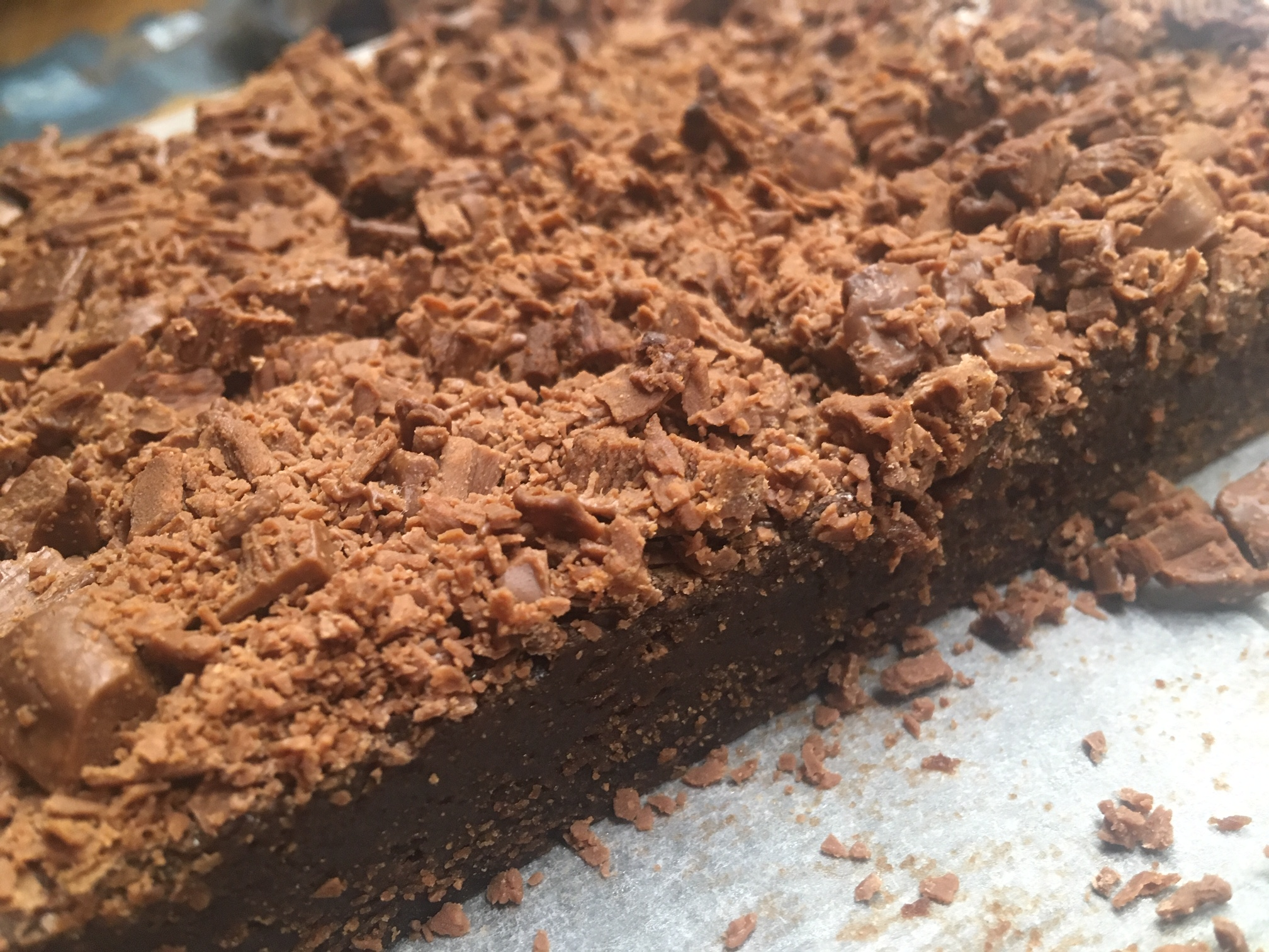 Galaxy Ripple Brownies
